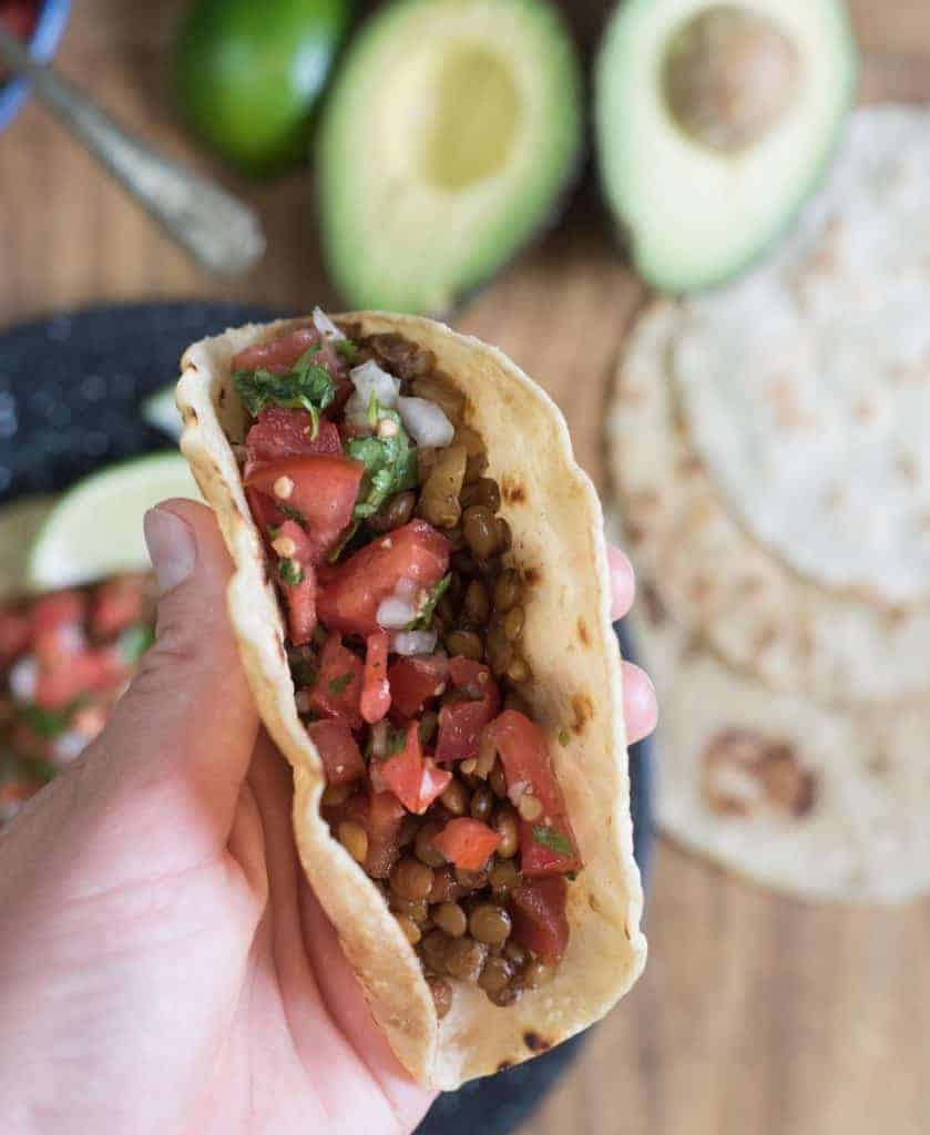 Lentil Taco Image