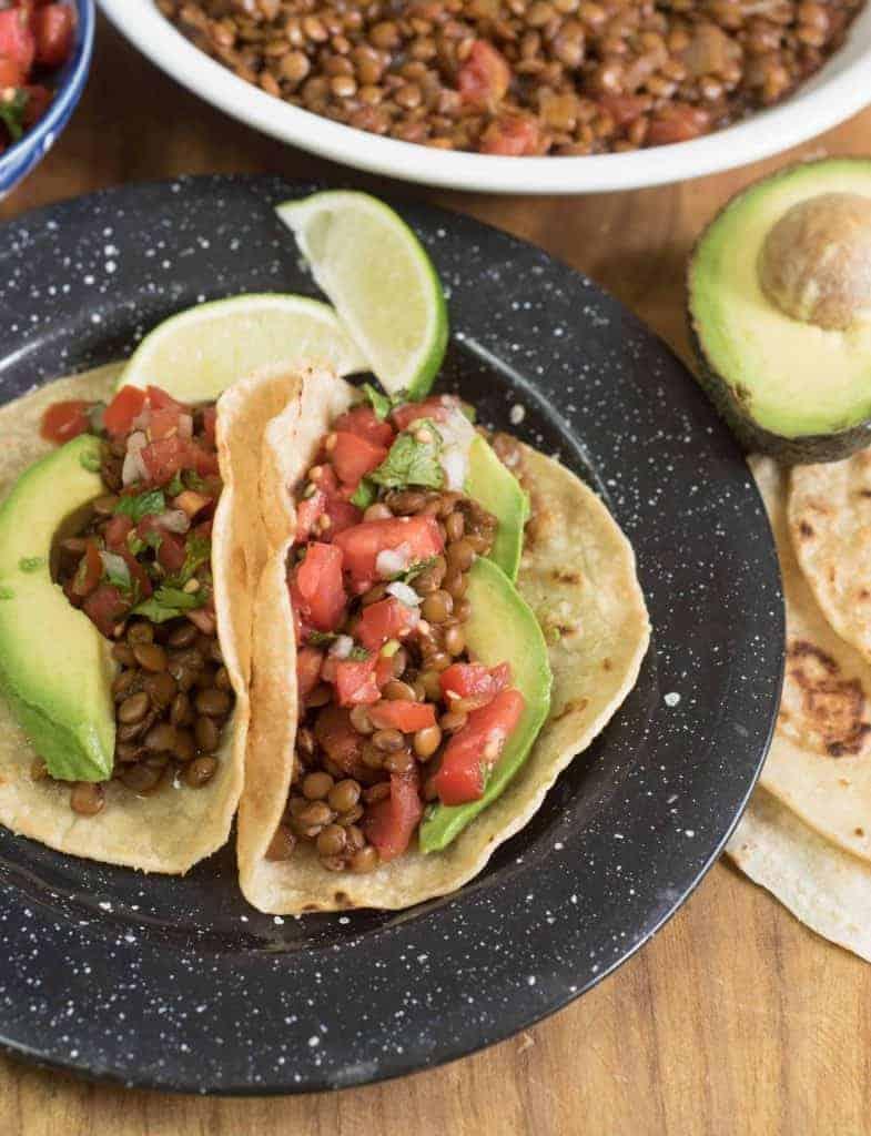 Image of Lentil Tacos
