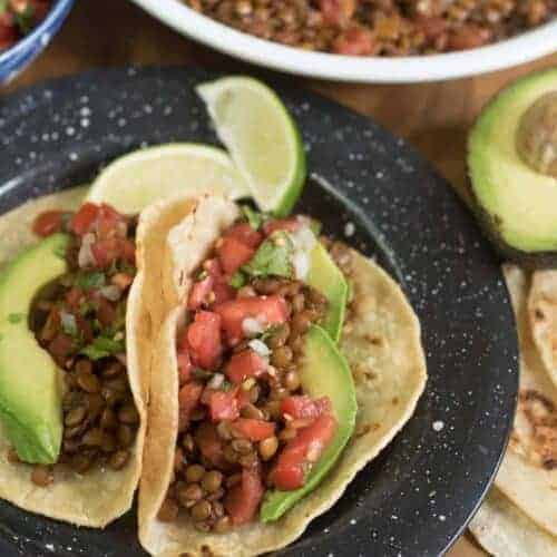 Quick and Easy Lentil Tacos