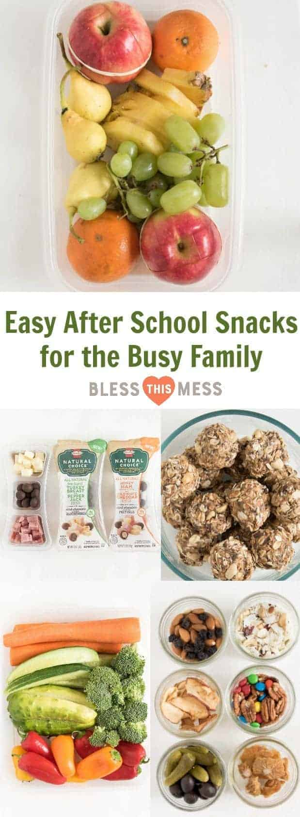 Easy After School Snacks for the Busy Family