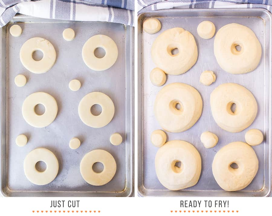 Photo of donuts ready to fry