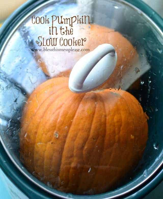 How to Cook a Pumpkin in the Slow Cooker | Easiest Pumpkin Recipe