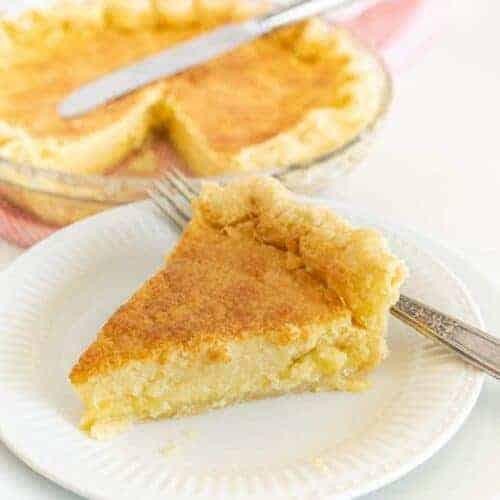 Old Fashioned Buttermilk Pie