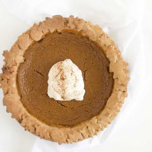 Healthy Pumpkin Pie Recipe