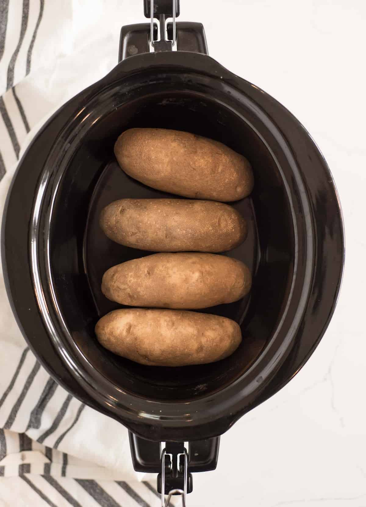 Slow Cooker Baked Potato Recipe