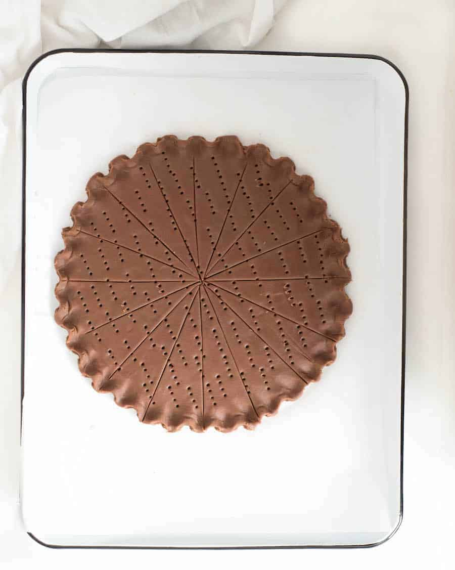 Easy Chocolate Shortbread Cookies Recipe