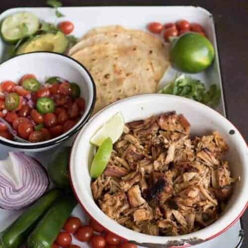 Crispy Instant Pot Pork Taco Recipe