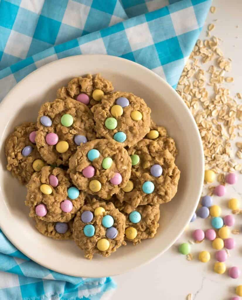 Oatmeal Cookies With M&Ms Recipe