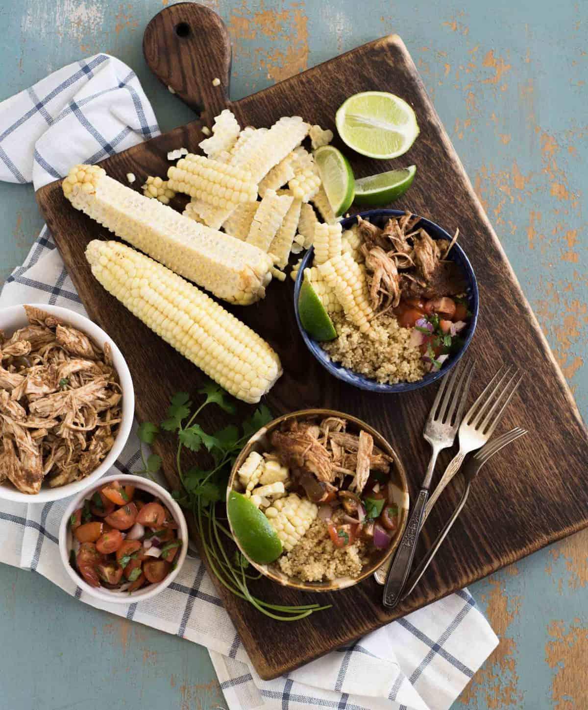 Image of chipotle chicken burrito bowl