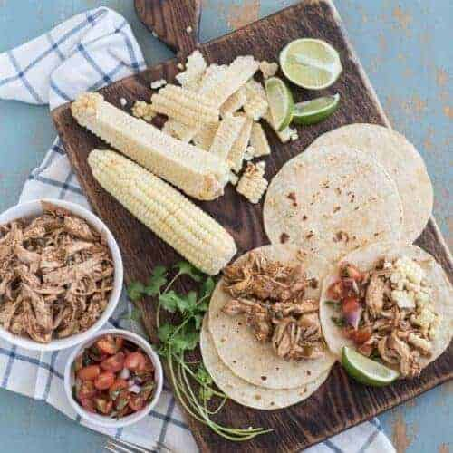 Instant Pot Chipotle Chicken Taco Meat