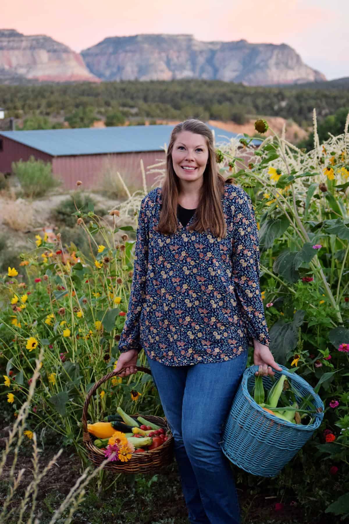 Image of Me in My Garden