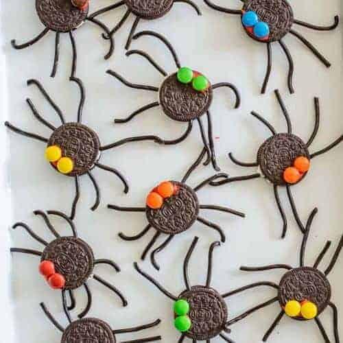 Easy Oreo Spider Halloween Snacks