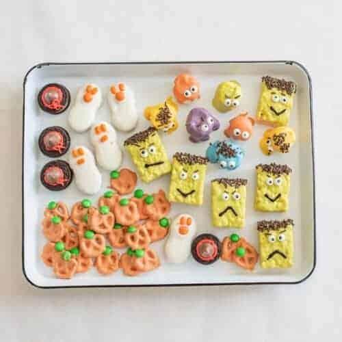 5 Easy No-Bake Halloween Treats