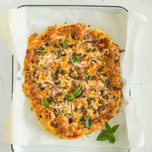 Homemade Supreme Pizza Recipe