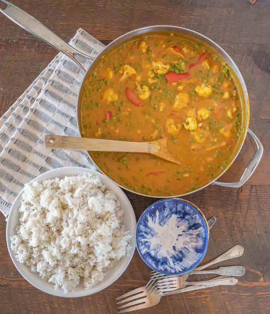 Easy Pumpkin Cauliflower Curry | Must Try Cauliflower & Pumpkin Recipe