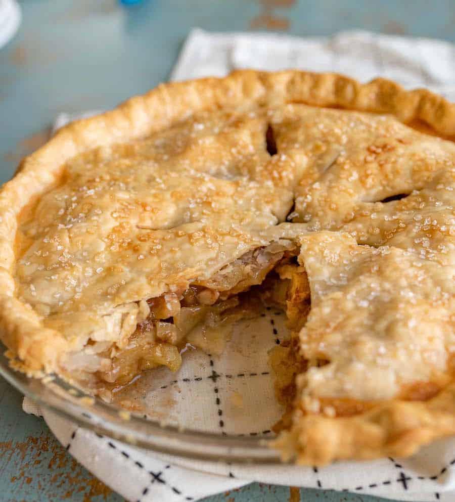 Easy Apple Pie Recipe   Classic Apple Dessert Recipe For Thanksgiving!