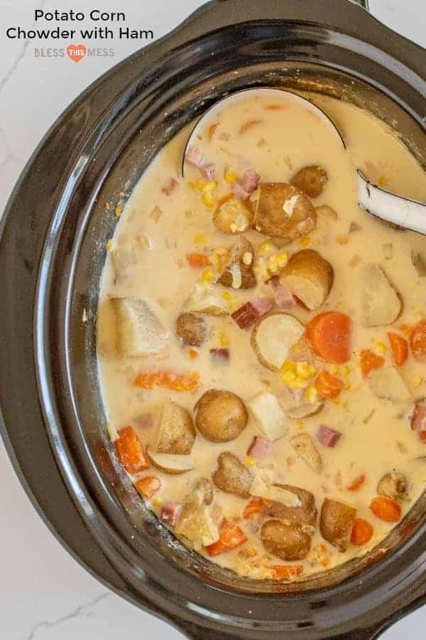 Easy Potato Corn Chowder Recipe