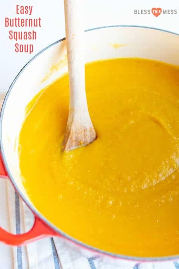 Homemade Butternut Squash Soup | Easy Butternut Squash Recipe