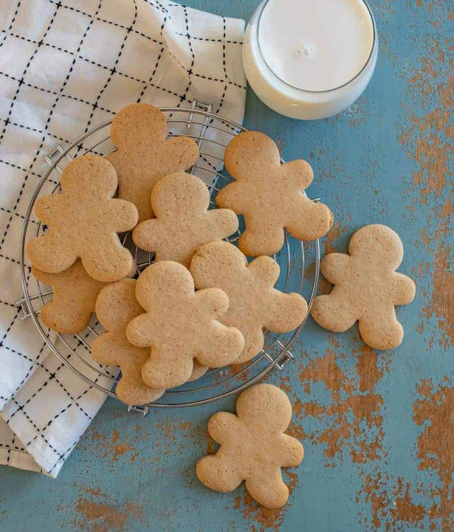 The best recipe to make perfect gingerbread cookies without molasses that are still sweet, spiced, and sturdy!