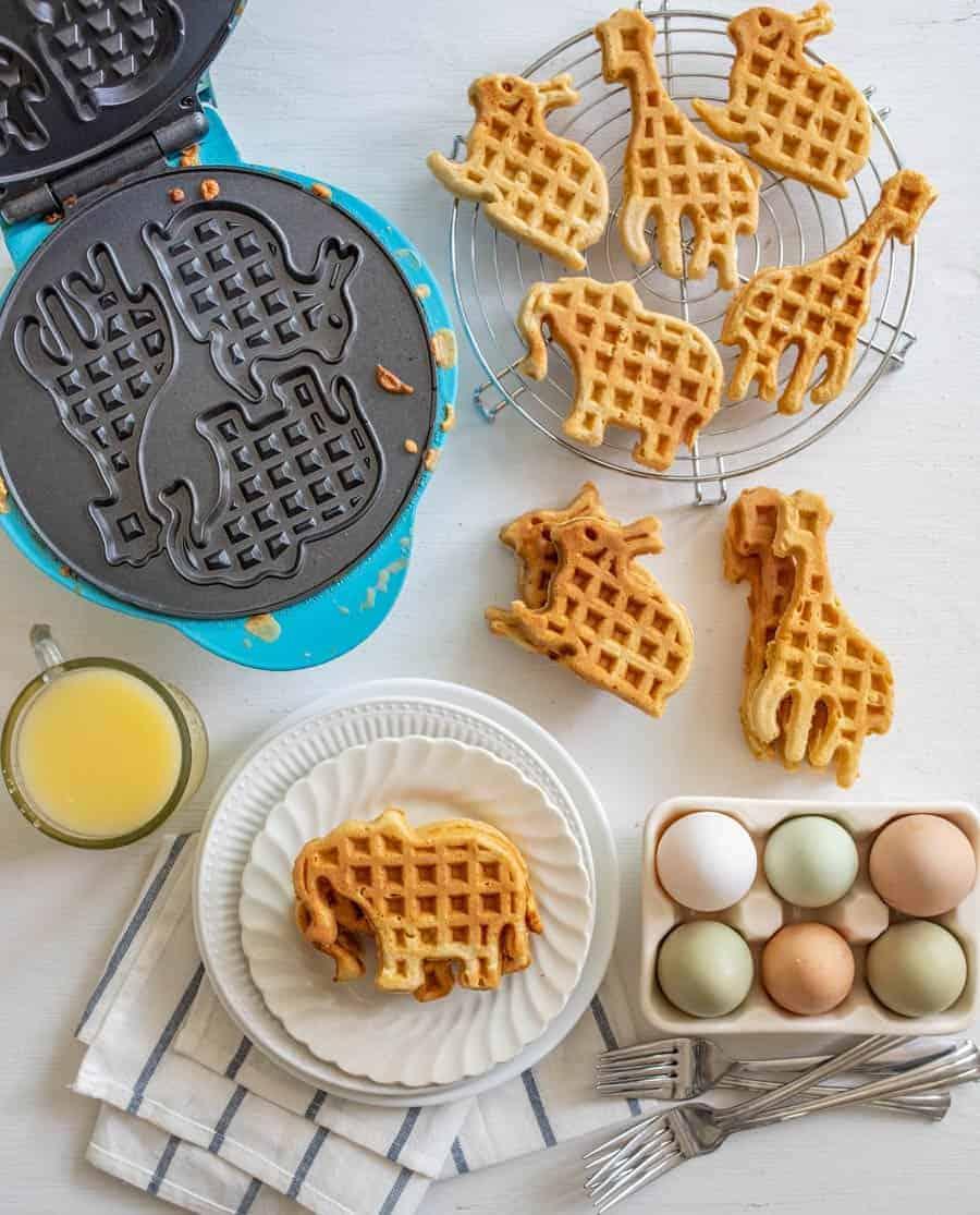 Easy Whole Wheat Waffles Recipe