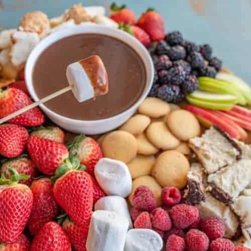 Homemade Chocolate Fondue