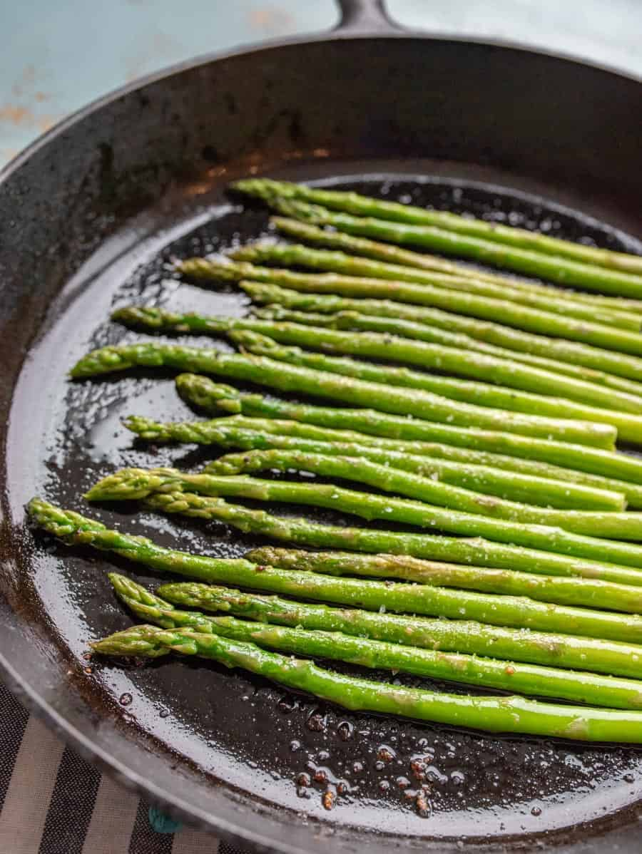 Simple Sauteed Asparagus
