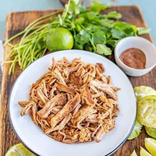 Pork Tenderloin for Tacos in the Crock Pot