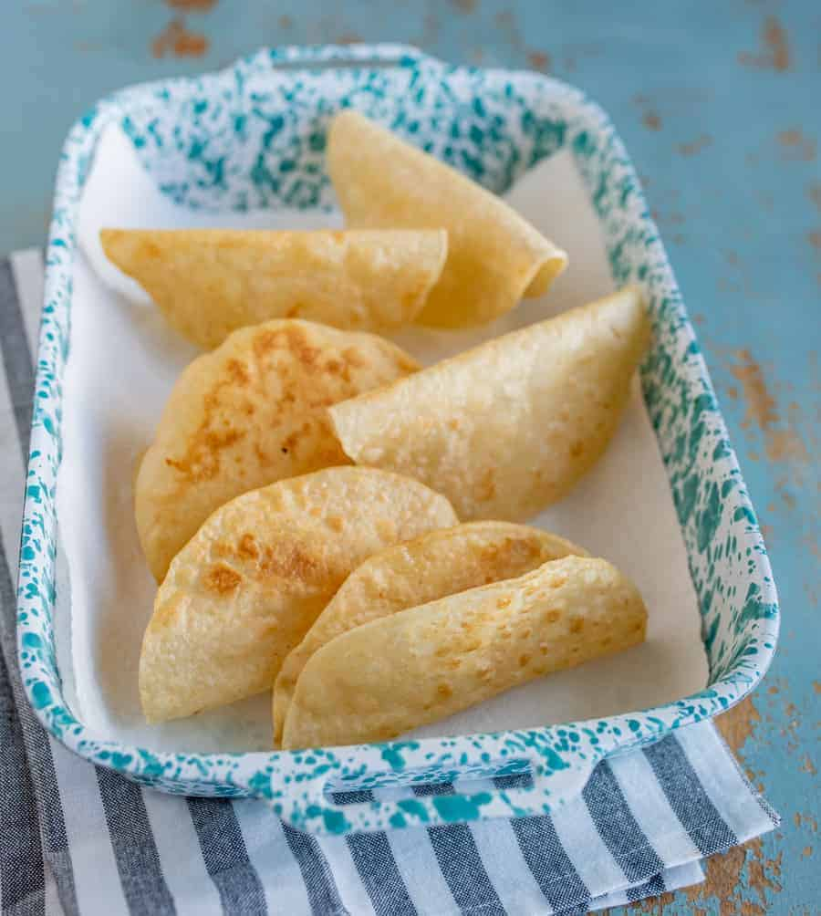 Sometimes you just want a taco that has a crunch with every bite, and these Homemade Hard Corn Taco Shells will bring all your crunchy, crispy taco dreams to life.