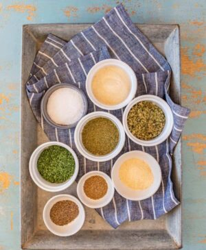 Mixing up a batch of Homemade Ranch Dressing Mix is such a simple way to elevate salads, toss together a quick chip and dip plate, or give a personal (and tasty) gift for holidays, hosts, or housewarmings.