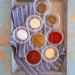 The smoky, earthy flavors of this Homemade Taco Seasoning Mix meld to make a heavenly addition to any Mexican-style dish, plus it's a fantastic gift!