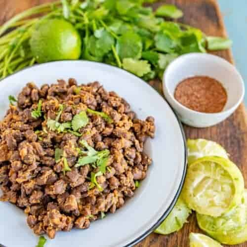 Easy Mexican Black Beans for Tacos