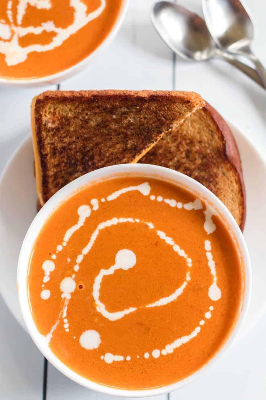 Simple Cream of Tomato Soup
