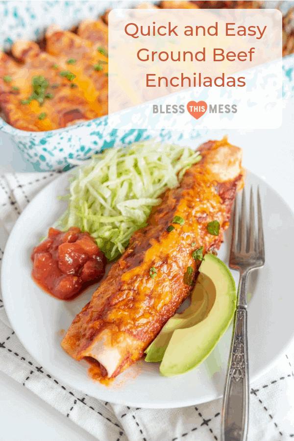 ground beef enchiladas