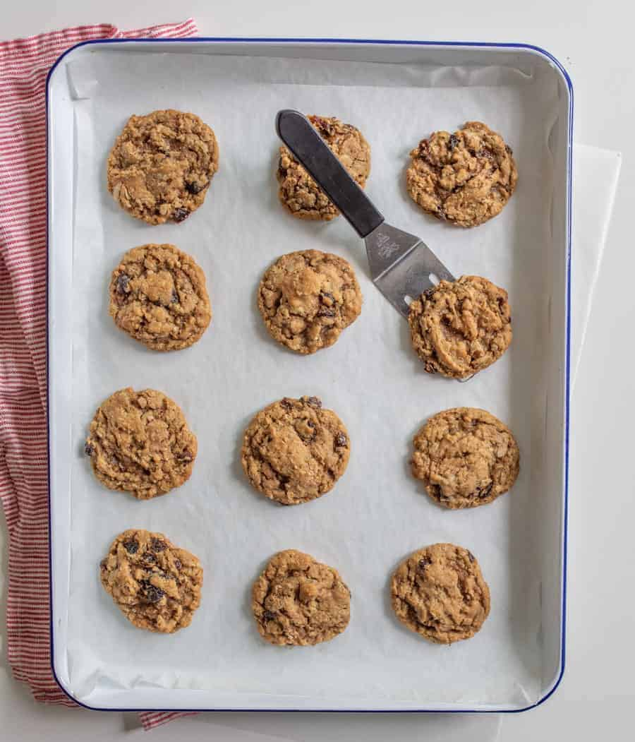 These classic and Amazing Oatmeal Raisin Cookies feature ultra-plump raisins, two types of oats, chopped pecans, and the perfect blend of sweetness and warm spices.
