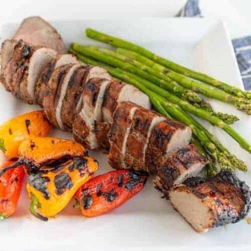 Brown Sugar and Garlic Grilled Pork Tenderloin