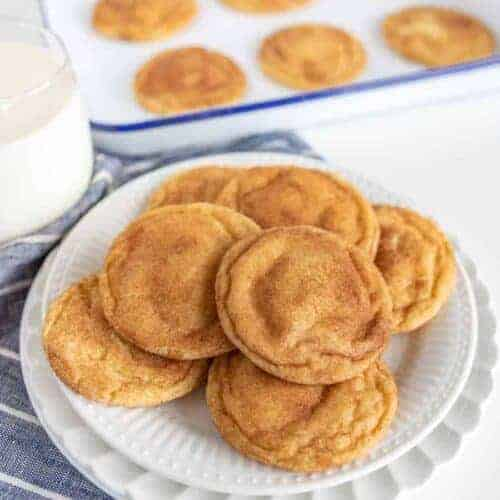 Extra Soft Snickerdoodle Cookies