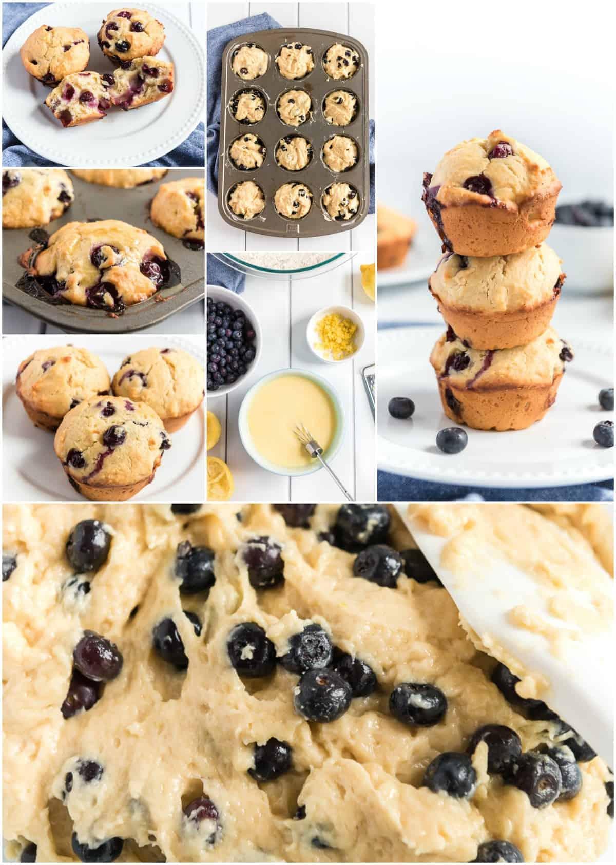 Easy Blueberry Lemon Muffin Recipe