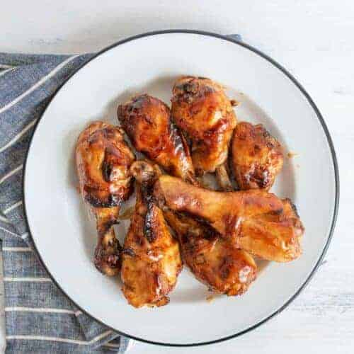 Sweet and Spicy Baked Chicken Legs