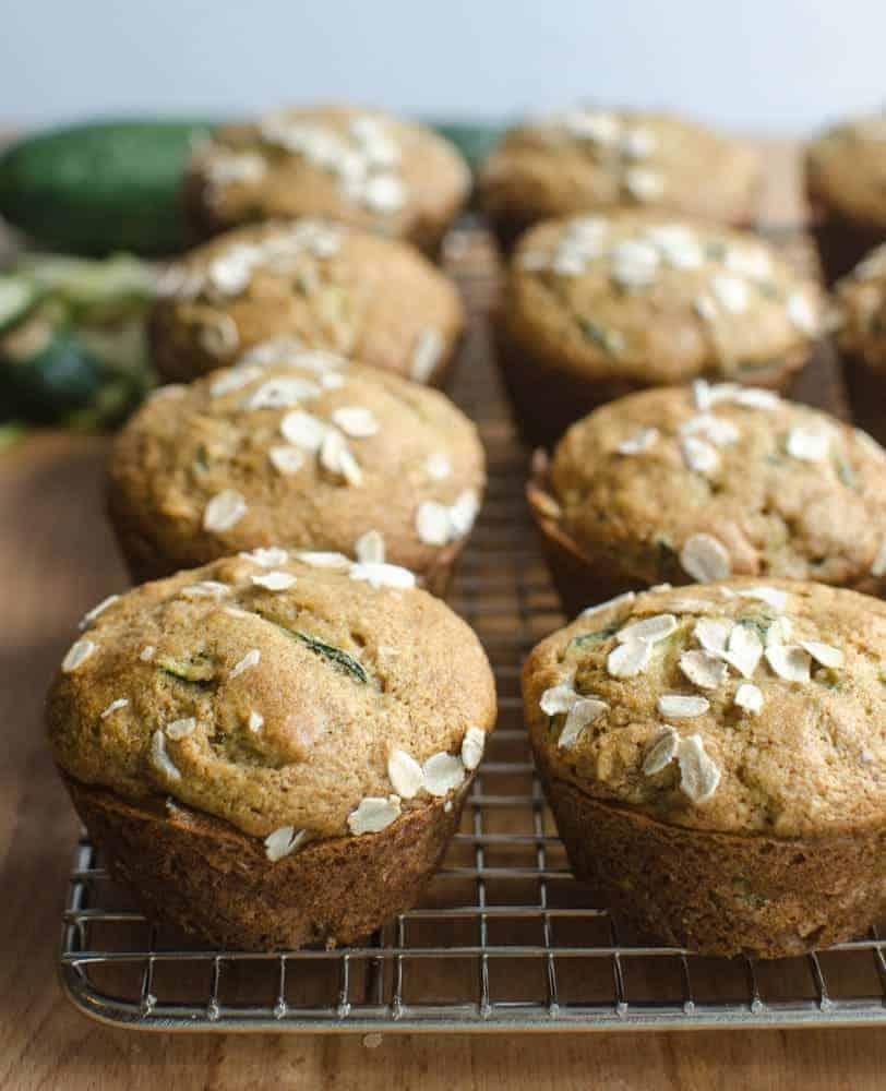 Image of Whole Grain Zucchini Muffins