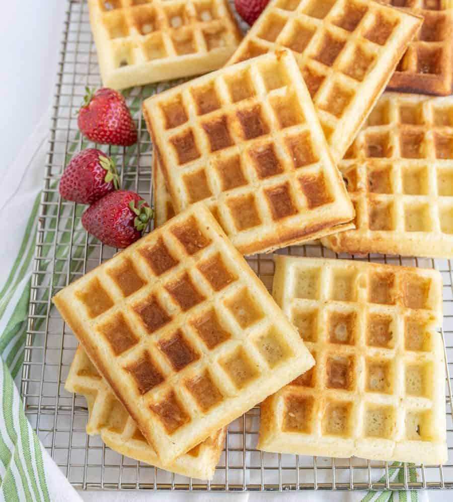 Classic Buttermilk Waffle Batter Recipe