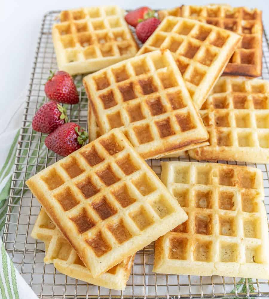 Image of Classic Fluffy Buttermilk Waffles