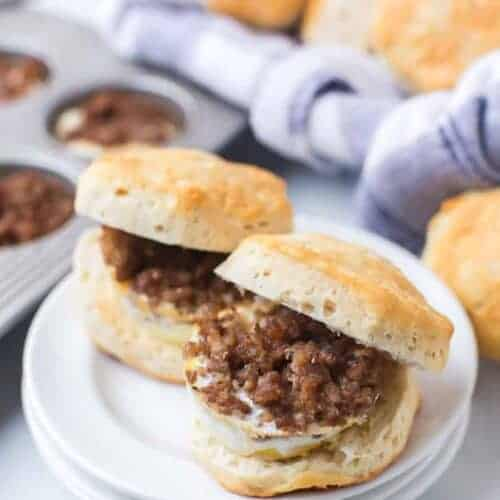 Breakfast Biscuit Sandwiches for a Crowd