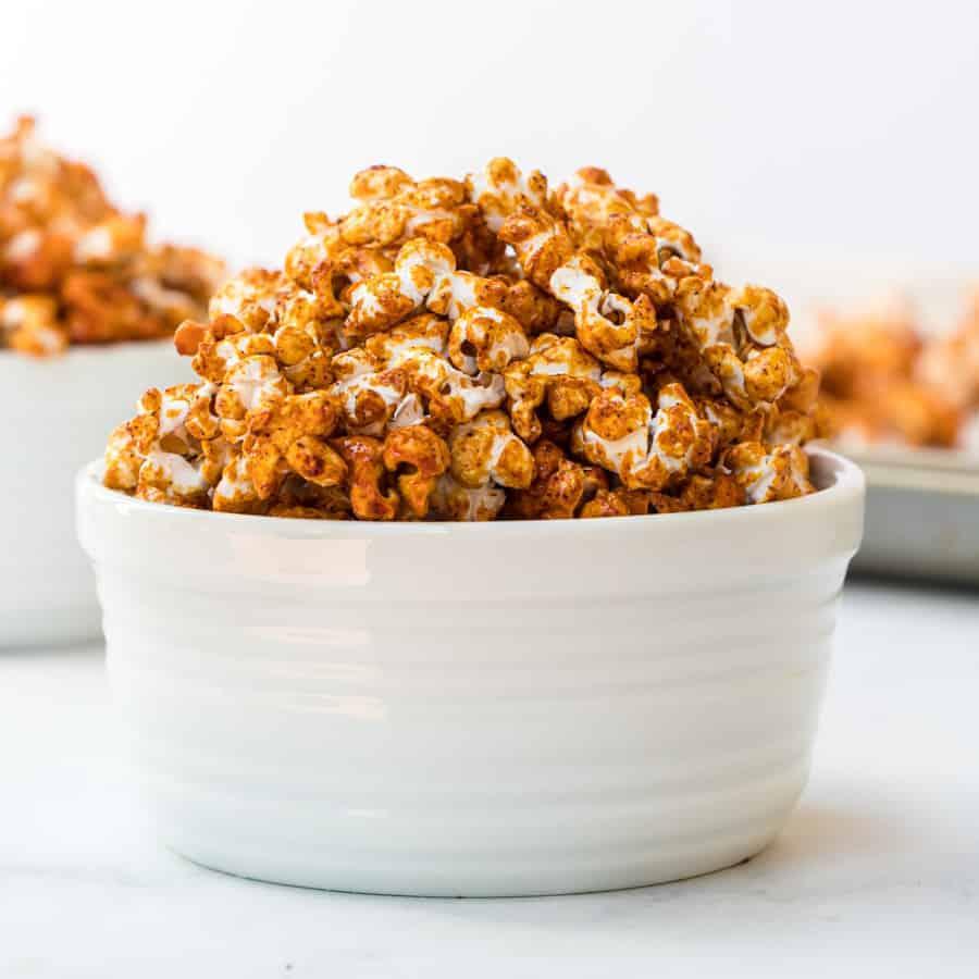 Honey caramel corn