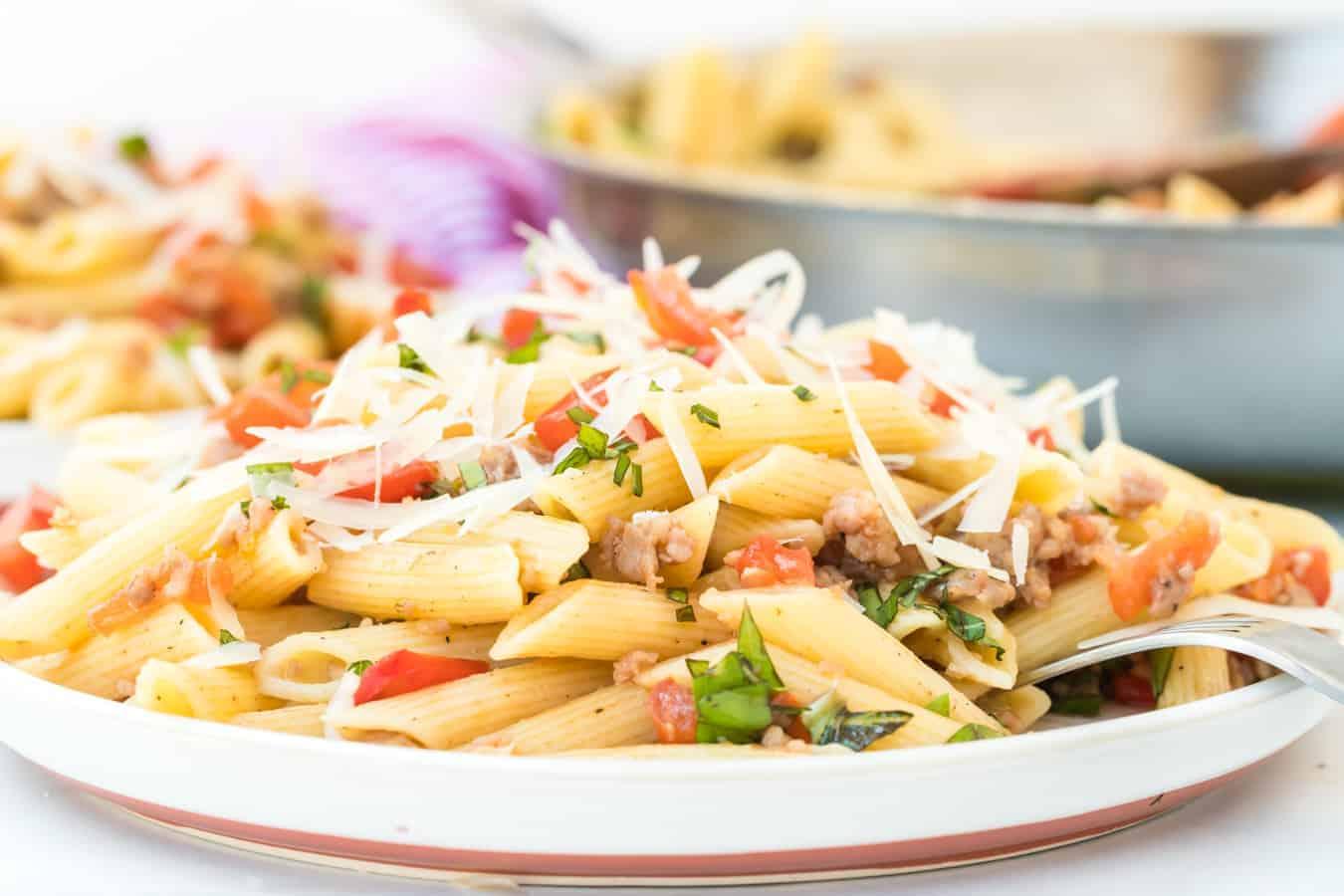 Image of The Best Tomato Pasta Dish