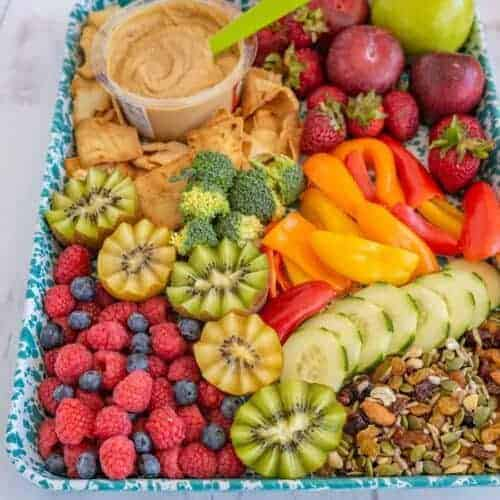 After School Snack Tray