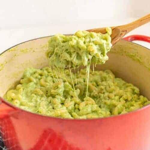 Green Broccoli Macaroni and Cheese (Toxic Waste Mac and Cheese)