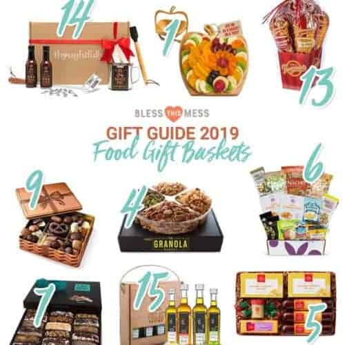Bless this Mess Gift Guide 2019: Food Gift Baskets