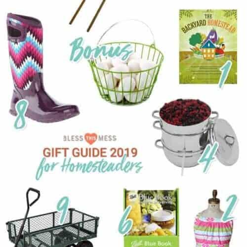 The Best Gift Ideas for Gardeners & Homesteaders