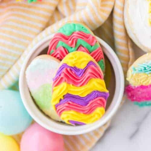 My Favorite Easter Sugar Cookies