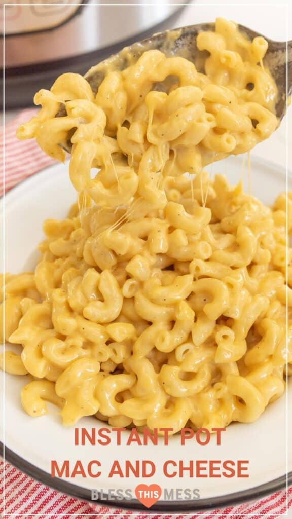 how to make macaroni and cheese in an instant pot pin